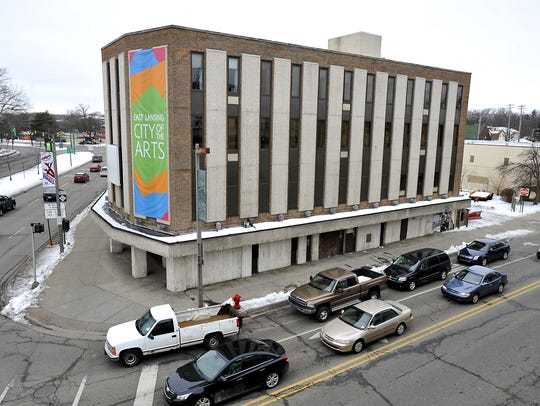 This file photo shows the Citizens Bank bulding, which