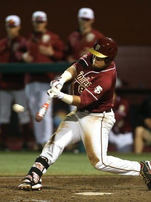 Florida State junior left fielder DJ Stewart, the 2014 ACC Player of the Year, anchors the Seminoles' lineup in 2015.
