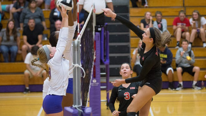 Wapahani sends an attack against Central Monday night at Central High School.