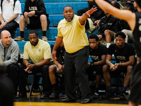 New Iberia coach Todd Russ hopes his Yellow Jackets can solve Catholic High of Baton Rouge in Friday's Class 5A bi-district contest.