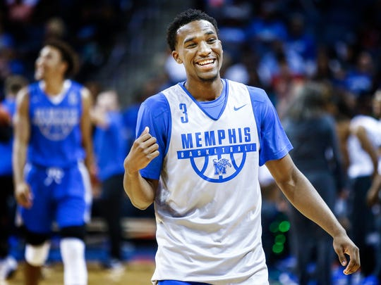 Tiger Jeremiah Martin during Memphis Madness at the