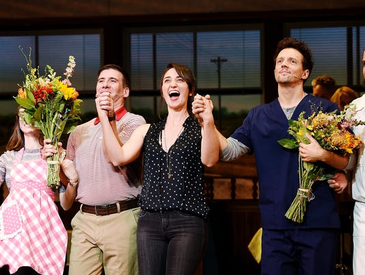 "Jason Mraz And David Josefsberg Debut In Broadway's ""Waitress"""