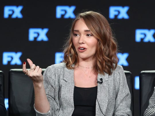 Holly Taylor of the television show The Americans speaks
