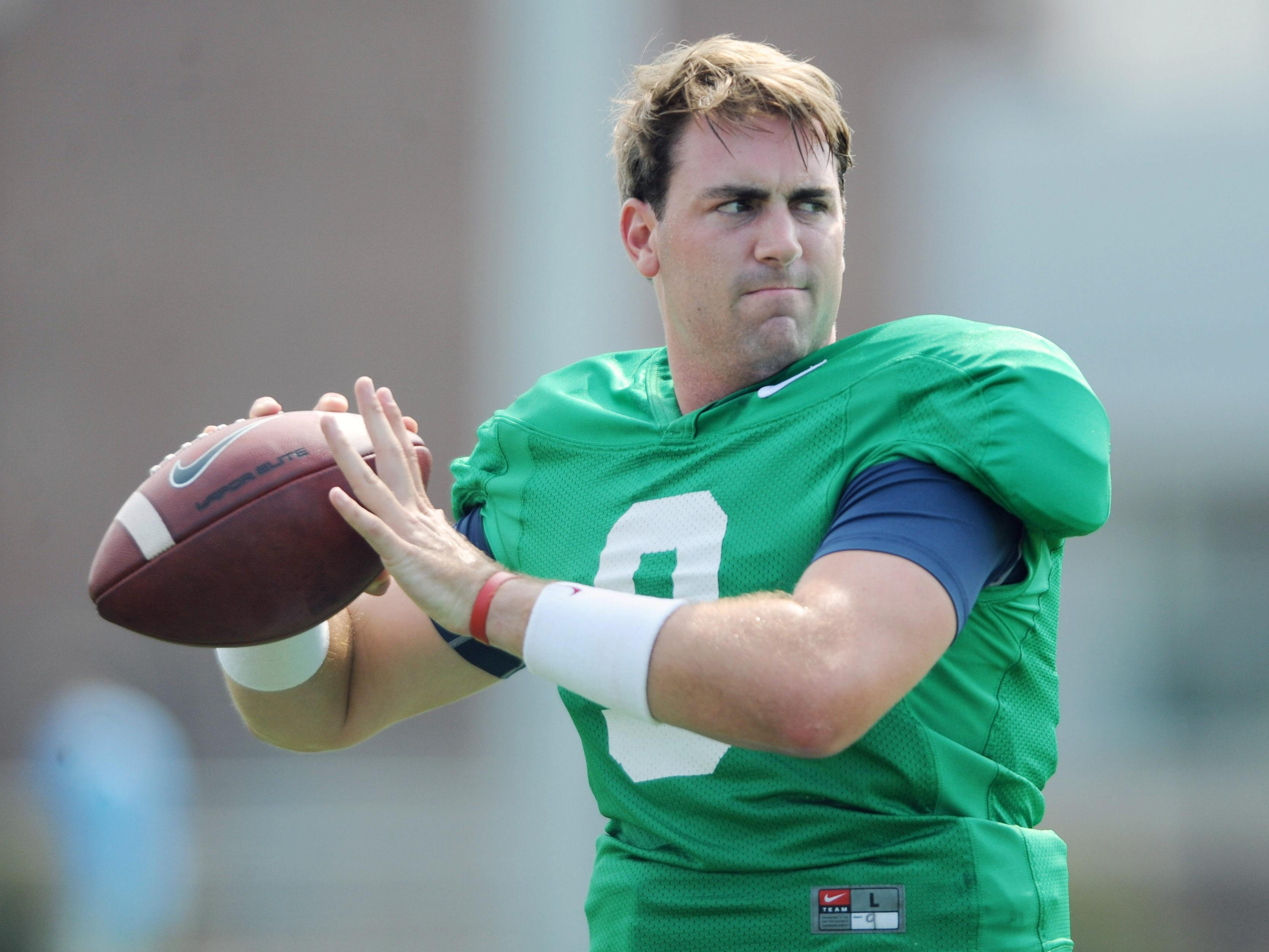 Ole Miss' Ryan Buchanan is one of three quarterbacks battling for the starting job.