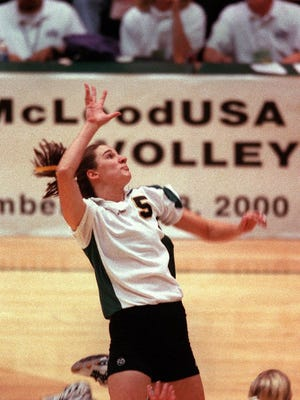 CSU volleyball legend Angela Knopf was a two-time First-Team All-American.
