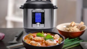 Instant Pot's multi-functions brings dinner to the table fast.
