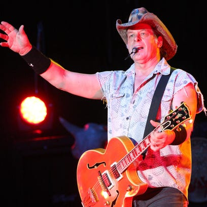 Ted Nugent opened his Fremont concert with a rendition