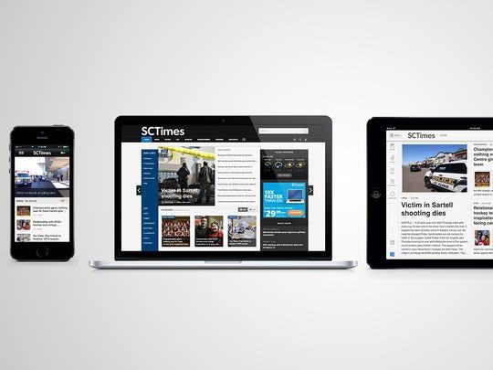 Times Media digital products.