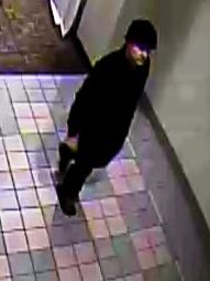 According to police, this man is a suspect in a gift box theft from Becket's Restaurant that occurred on Aug. 29.