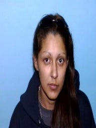 New Mexico State Police are looking for Bernadette Molina, 34, who is charged with trafficking methamphetamine during an investigation announced Friday in Artesia. She is at large.