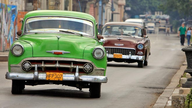 """Expect a trip to Cuba to feel unfamiliar: """"I don't think Hertz or Avis will be there anytime soon."""" said one expert."""