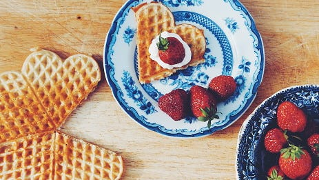 """Leslie Knope loved waffles on """"Parks and Rec."""" So treat yourself this Galentine's Day with your best gal-pals."""