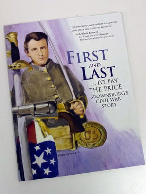 "This is the cover of ""First and Last."""