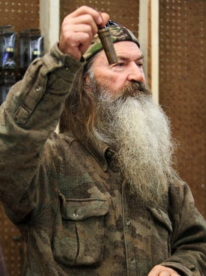 """Phil Robertson, the Duck Commander, is a star of A&E's """"Duck Dynasty"""" reality TV show."""