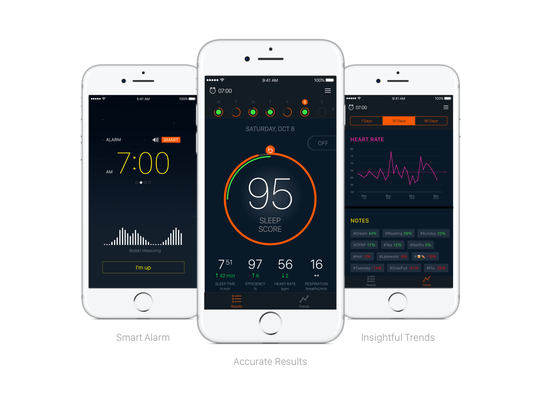 The Beddit 3 is the first sleep tracker to monitor all aspects of sleep quality and quantity, along with heart rate, snoring, breathing and even room temperature and humidity.