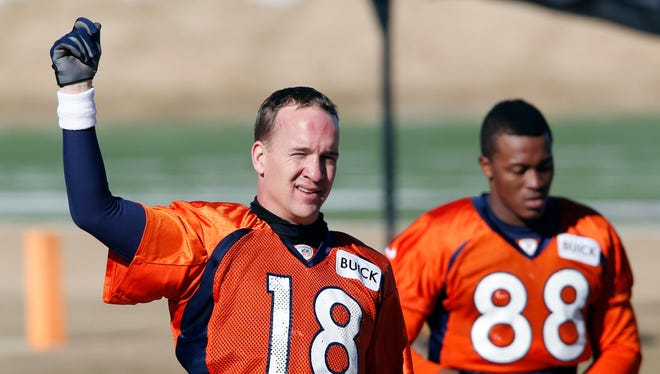 QB Peyton Manning and the Broncos prefer to practice in the outdoor elements.