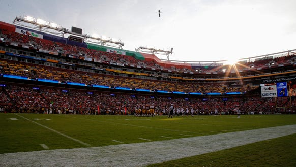 The sun begins to set in the third quarter during the