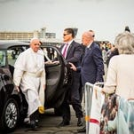 A charity auction on Jan. 29 will offer the Fiat 500L wagon used by Pope Francis during his September visit to Philadelphia.