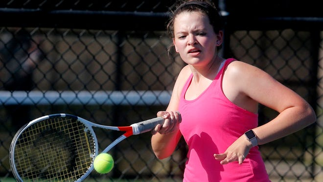 Central Magnet's Macy Speight is a nominee for area girls athlete of the week for April 9-14.