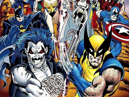 DC comics heroes include iconic characters like Superman,