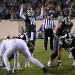 Dantonio celebrates Big Ten East title