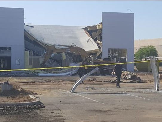 Worker Injured When Roof Collapses In Scottsdale