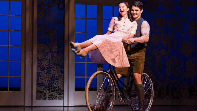 """Jack O'Brien's staging of """"The Sound of Music"""" allows teenagers Rolf and Liesl to actually act like teenagers."""