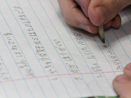 Southern Regional High School students learn to write