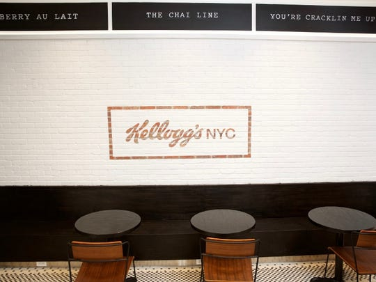 Kellogg Co. will open its first ever permanent cereal cafe July 4 in New York City's Times Square.
