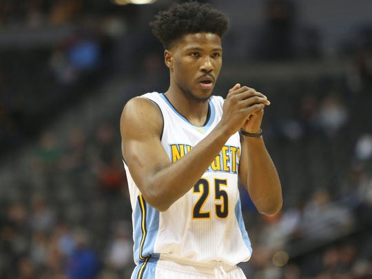 Denver Nuggets guard Malik Beasley hopes his outstanding