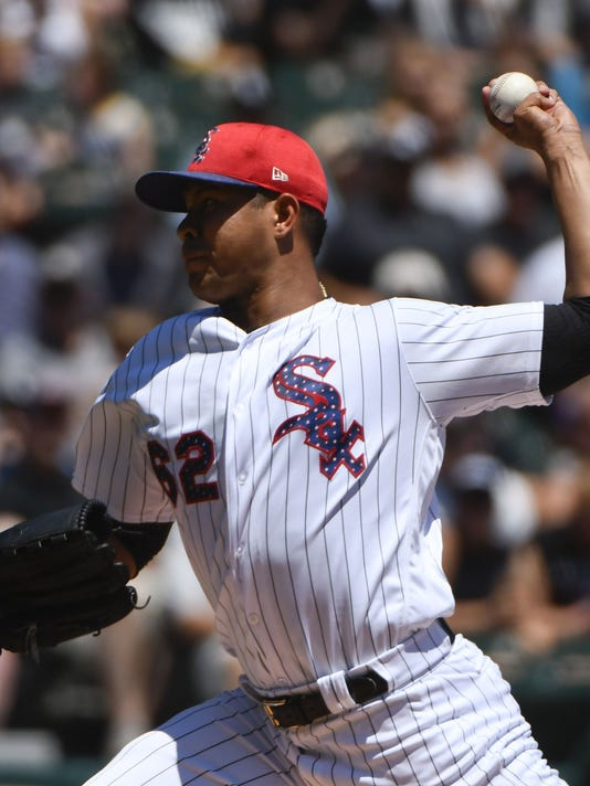 USP MLB: TEXAS RANGERS AT CHICAGO WHITE SOX S BBA CHW TEX USA IL