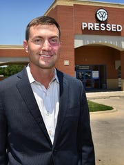 Brian Hooker, city councilor for District 3, stepped
