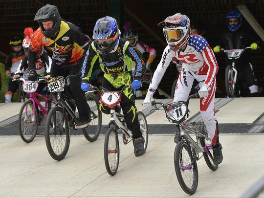 St. Cloud native and U.S. Olympic BMX rider Alise Post,