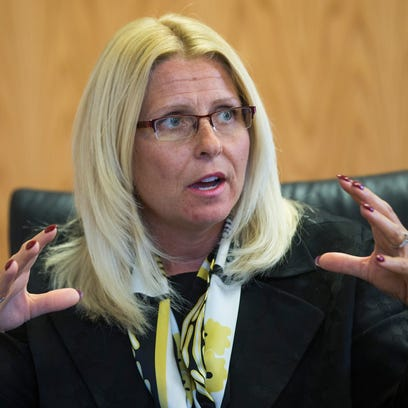 Sharon Helman, medical center director, reacts to allegations