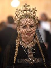 Madonna at the Metropolitan Museum of Art's Costume