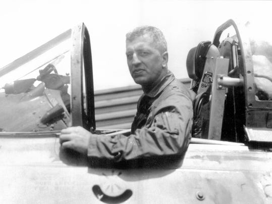 Former Penn State football player Wayne Wolfkeil was shot down and presumed killed during a fighter mission in Vietnam.