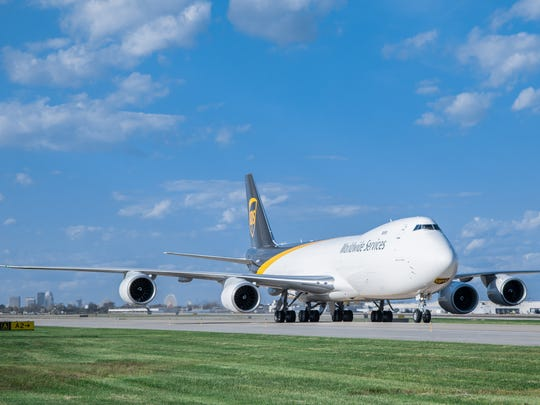 UPS took delivery of the first of a handful of Boeing 747-8 wide-body aircraft within the last week. They should take flight from Louisville International Airport in about a week.
