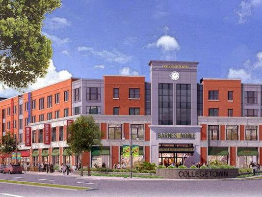 College Town project rendering