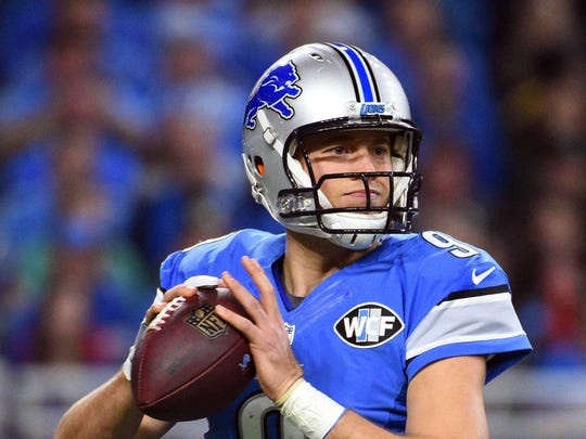 Detroit Lions quarterback Matthew Stafford is looking for his first postseason victory.