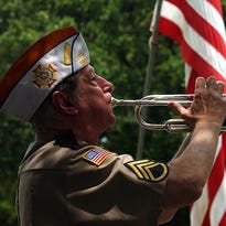 """Gary Edmondson has made himself a fixture of remembrance for veterans in Acadiana since 1959, playing TAPS at veterans' funerals, but the beginning of what this bugler calls """"a calling"""" began 70 years ago."""