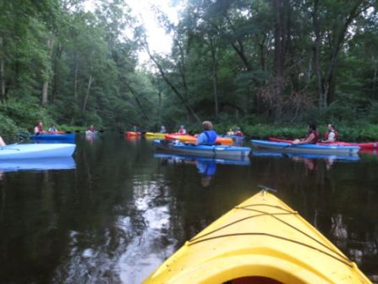 Kayaking has become increasingly popular, and sometimes