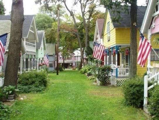 Pictured are a few of the cottages at Plainville Campgrounds