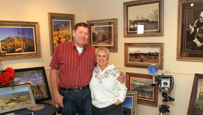 """Deming photographers Bob and Diane Hudgens have selected some of their finer work to put on exhibit during an art show titled, """"The West as We Saw It."""" The couple will hang their show within a day or two in time for a Saturday showing at the Deming Art Center, 100 S. Gold St. A reception for the couple will be held from 1 to 3 p.m. on Sunday, Feb. 7 at the DAC. The show will hang through Feb. 27."""