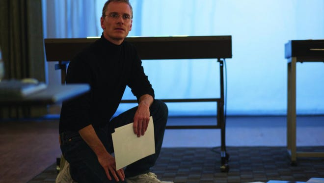 """Michael Fassbender plays the title role in """"Steve Jobs,"""" director Danny Boyle and screenwriter Aaron Sorkin's take on the life of the Apple co-founder."""