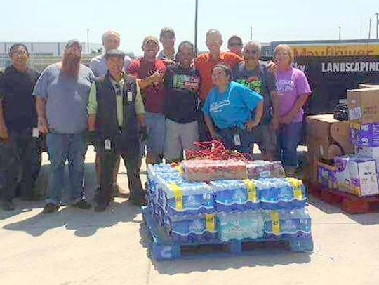 Several people of Grant County came together to help
