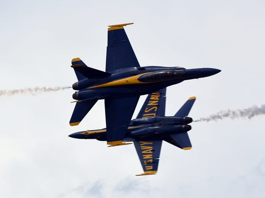 The Vero Beach Air Show, which features the U.S. Navy Blue Angels, is 9 a.m. to 5 p.m. April 25-26 at the Vero Beach Regional Airport.