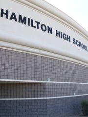 Hamilton High School in Chandler on Sept. 22, 2017.