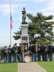 73rd OVI Regiment Band.