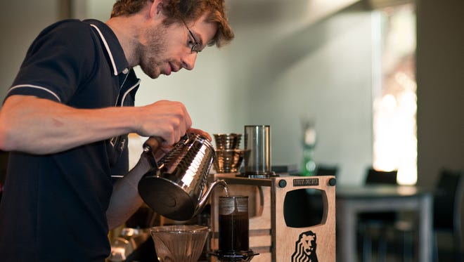 7. Milstead & Co., Seattle: Owner Andrew Milstead has been praised for taking the most difficult approach to the coffee shop model — the multi-roaster model — and excelling at it. That means Milstead balances a slew of different roasters, from roasters as big as Stumptown to as small as Heart Roasters in Portland, Ore., to put forth the best coffee possible — and that's not always as easy as it looks. With more than 30 different coffees on the menu to sample at a time, you'll never get a better education about coffee than at Milstead & Co.