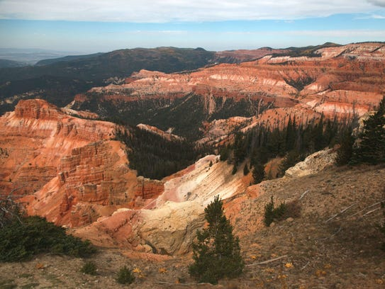 A view of Cedar Breaks in September 2016.